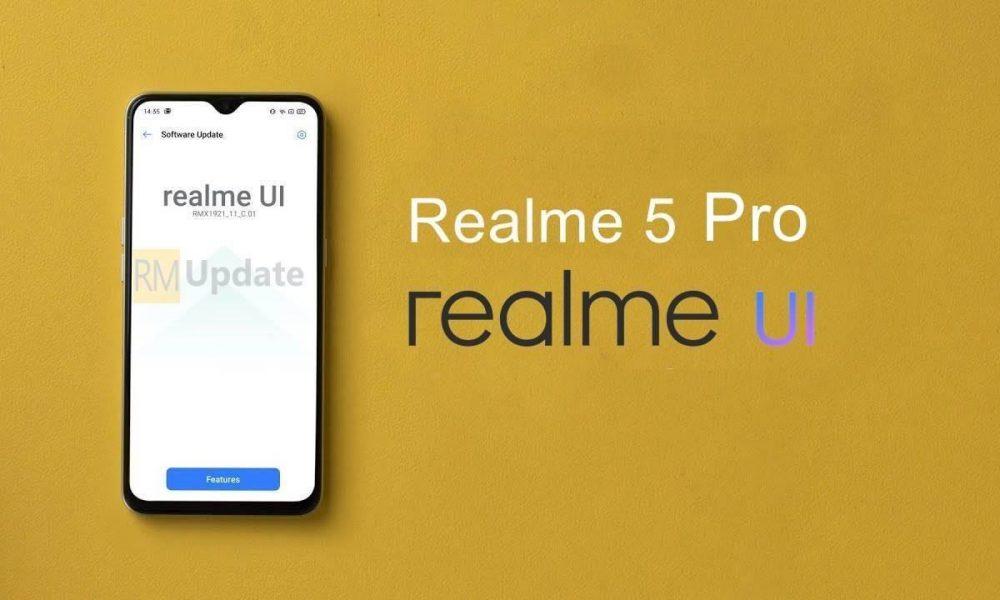 ریلمی به روز رسانی گوشی Realme 5 Pro خود را در سپتامبر 2020 اعلام نمود