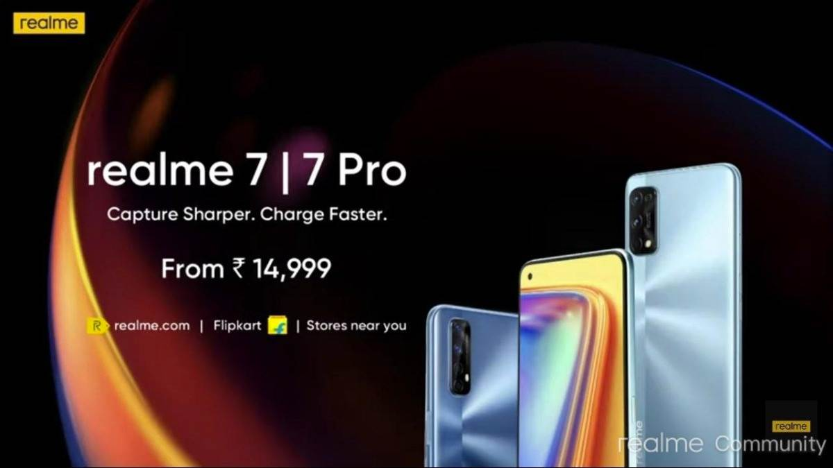 Realme 7 & Realme 7 With Punch-Hole Display Launched In India, See Pricing & Specifications
