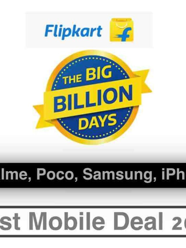Best Mobile Deal in Flipkart Big Billion Days
